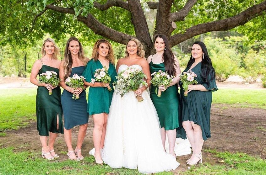 Hair & Makeup and Bridesmaids