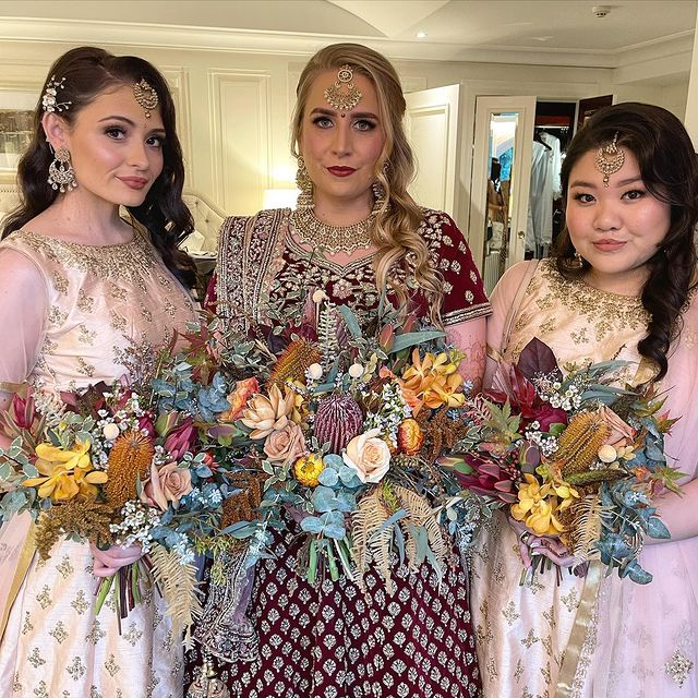 South Asian Bridal Makeup and Hair Service in Northern beaches